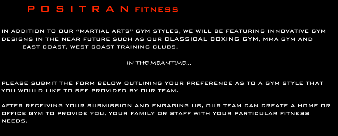 P O S I T R A N FITNESS